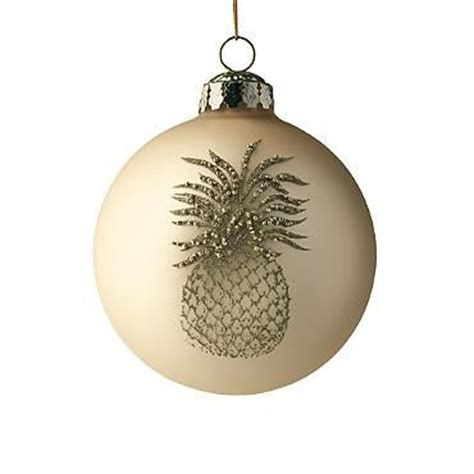 williamsburg pineapple ornament frontgate