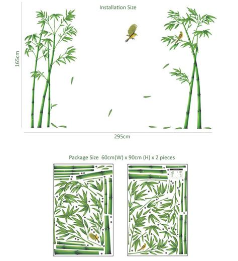 bamboo wall stickers bamboo wall sticker w6019 end 11 2 2016 10 15 pm