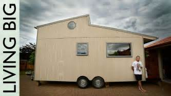 amazing diy off grid modern tiny house youtube custom living home swoon