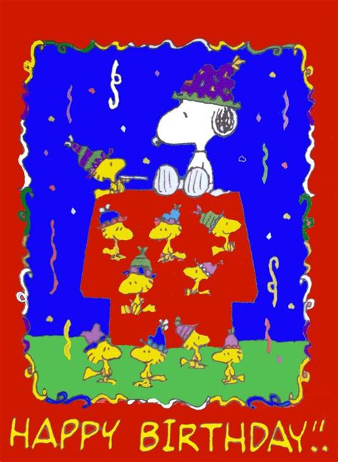 happy birthday images snoopy snoopy happy birthday cards images