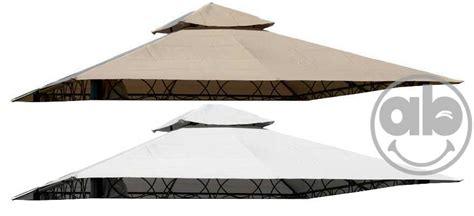 teli gazebo telo copertura per gazebo a 8 punte 3x3 bianco o beige