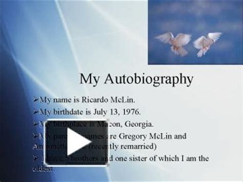 biography and autobiography powerpoint presentation ppt my autobiography powerpoint presentation free to