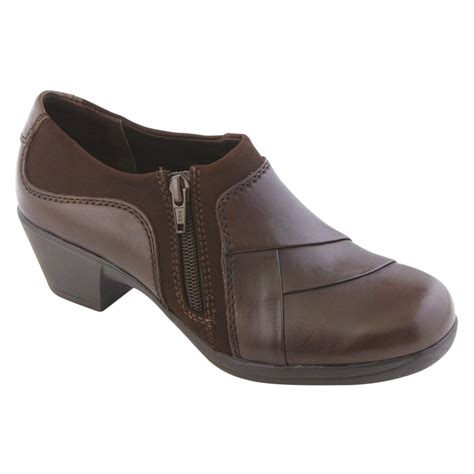 sears i love comfort shoes i love comfort women s casual bootie marietta brown