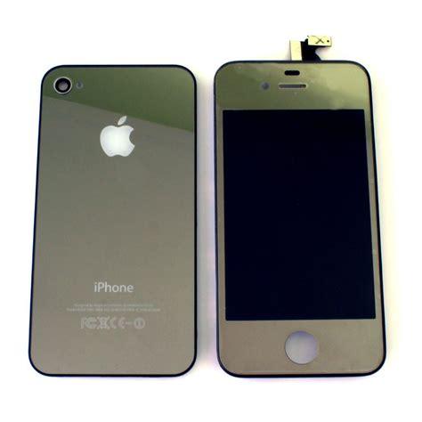 I Phone Kulit Green Silver 1 iphone 4 colours