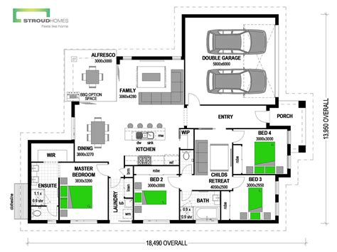 home design with attached flat house plans with flat attached nz