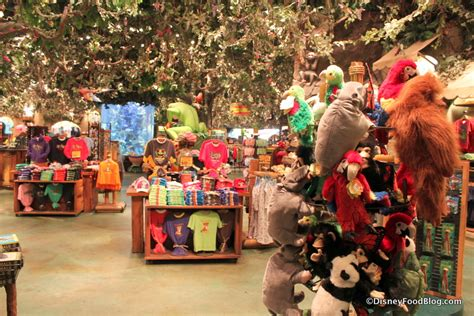 Shoo Rainforest Shop review breakfast at rainforest cafe in disney s animal