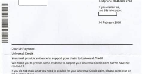 Universal Credit Confirmation Letter The Real How Services Can Prey On Users