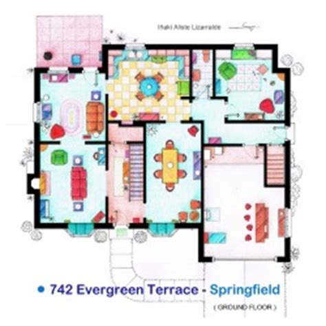the simpsons house floor plan index of vocabulary images house