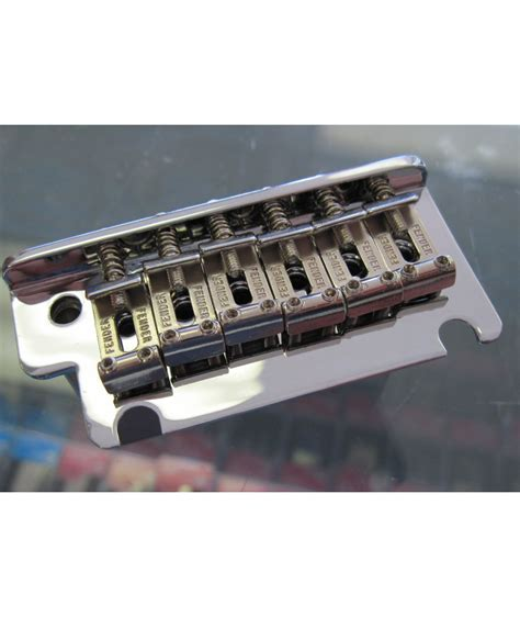 Saddle Bridge Tremolo Model Stratocaster fender usa standard stratocaster tremolo bridge assembly 08 present 0075091049