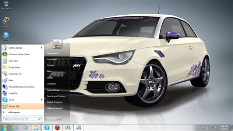 theme windows 10 audi audi a1 2011 windows 7 theme by windowsthemes on deviantart