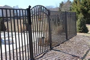 your residential fencing options straight line fence