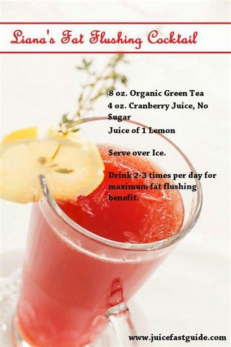 Cranberry Flush Detox by Flush Cocktail Shape Up Or Ship Out