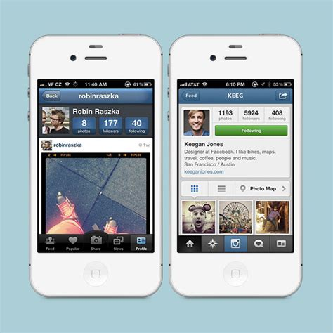 instagram layout old version apk comparing ios designs of 5 apps over the years designmodo