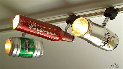 Can Light Fixtures by Can And Bottle Light Fixtures Decor For A