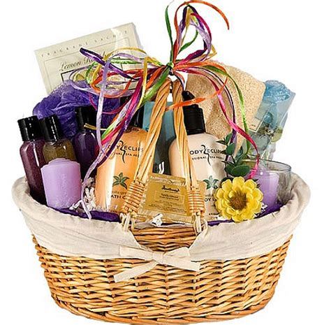 Baskets For Gifts - bath gifts basket bath gift baskets for a per