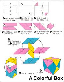 How To Make A Paper Cube Box - origami no 7 is a confusing looking