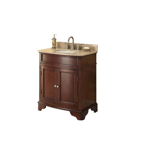 31 bathroom vanity with top 31 in w x 35 in h x 20 in d vanity in cherry with