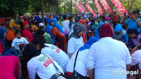 cgv tegal hari ini rekor muri 1 213 orang wudhu bersama di halaman kantor