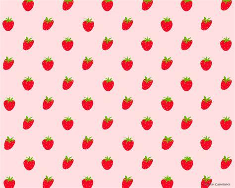 wallpaper cartoon strawberry strawberry wallpaper by marsapan on deviantart