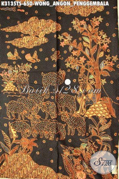 batik halus dan adem kain batik premium tulis soga buatan