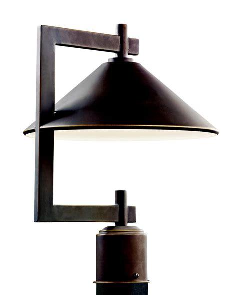 dark sky outdoor lighting kichler 49063oz ripley dark sky outdoor post mount fixture