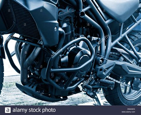 Triumph Motorrad 4 Zylinder by Triumph Engine Stockfotos Triumph Engine Bilder Alamy