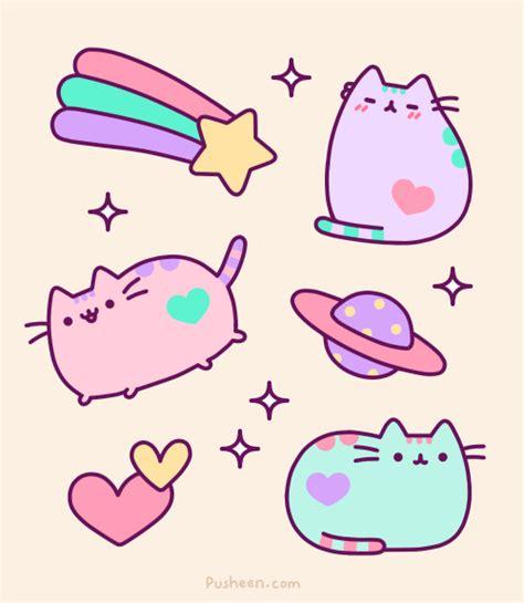 imagenes kawaii gatos gifs gatito pusheen