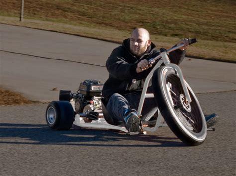 big wheel drift trike a motorized big wheel style