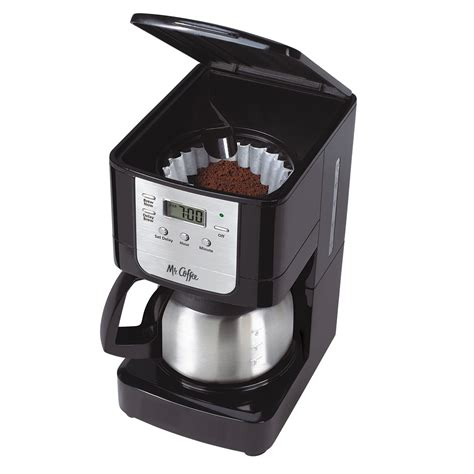 coffee maker stainless mr coffee 174 advanced brew 5 cup programmable coffee maker