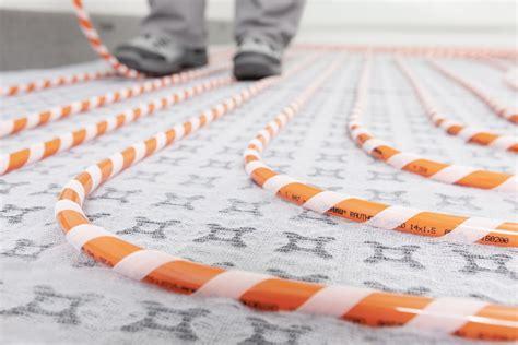 rehau riscaldamento a pavimento rehau presenta il sistema radiante a pavimento rautherm