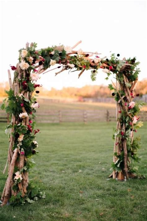 Wedding Arch Branches by 1000 Ideas About Rustic Wedding Arches On