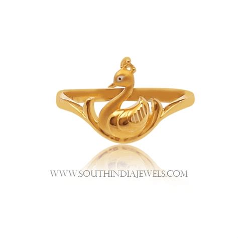 Gold Ring Design For by Gold Ring Design For Without South India Jewels