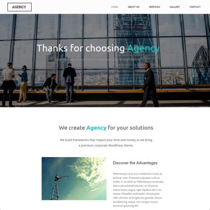 free download css templates for advertising agency agency website template free website templates in css