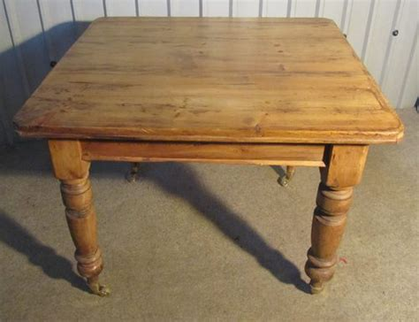 rustic pine kitchen table antiques atlas