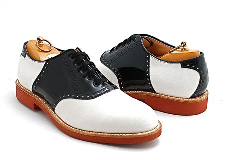 the in the shoe alden x leffot school saddle shoe leffot