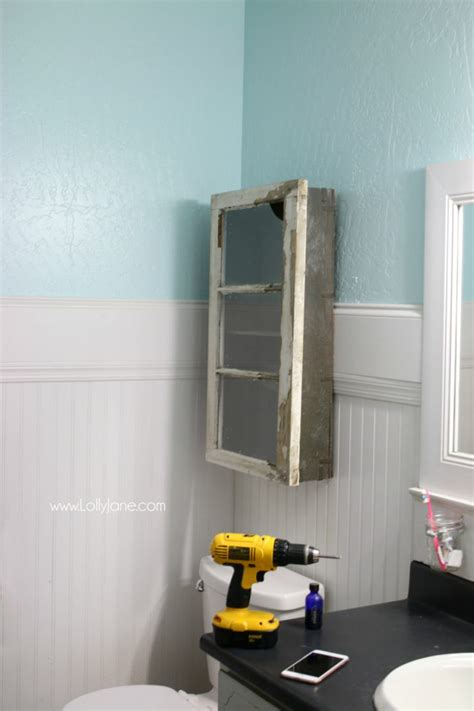 How To Install Bathroom Cabinet by Diy Bathroom Cabinet