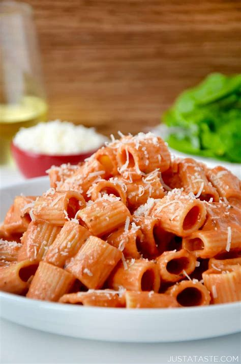 easy pasta sauce quick and easy vodka pasta sauce just a taste