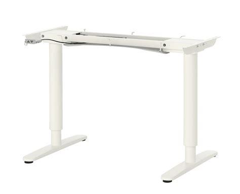 ikea pied bureau pied de table reglable en hauteur ikea