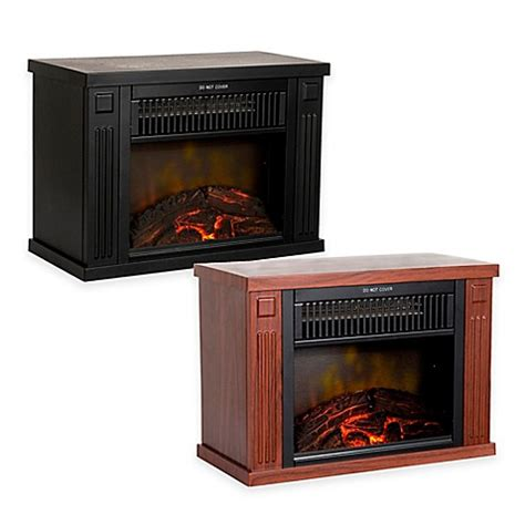 Portable Electric Fireplace Northwest Mini Portable Electric Fireplace Heater Bed Bath Beyond