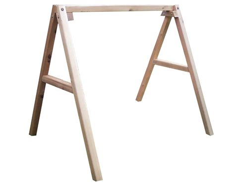 swing stands red cedar blue mountain fanback porch swing