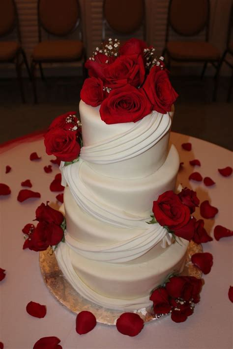 red rose themes com wedding cakes pictures with red roses www pixshark com