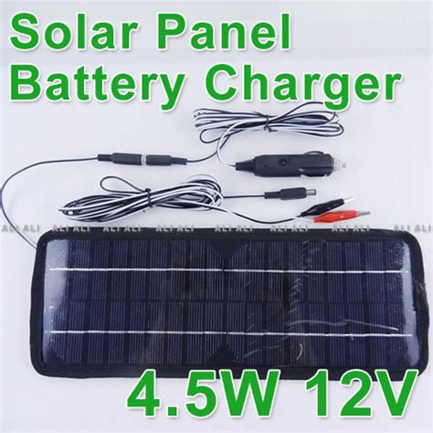 Lu Emergency Ms 1000 Solar Charger Batery multi purpose solar panel battery charger 12v 4 5w car rv on aliexpress alibaba