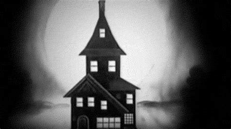 house animated gif black and white animated gif
