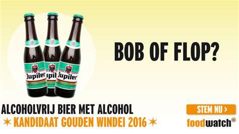 gouden windei van alcoholvrij bier met alcohol tot