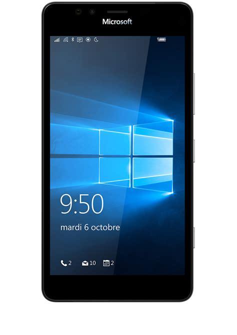 Nokia Microsoft 950 Nokia Microsoft Lumia 950 Noir Avis Prix Avec Forfait