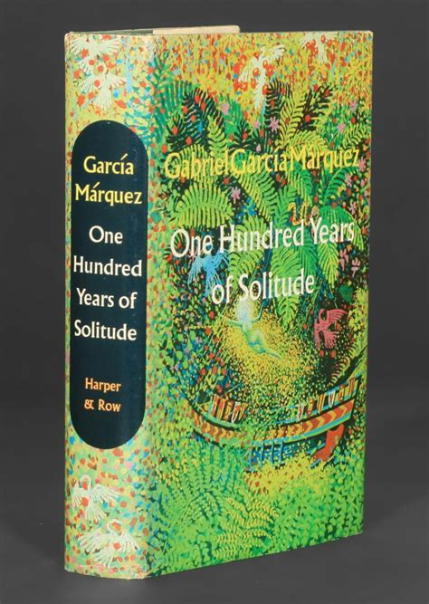 libro one hundred years of one hundred years of solitude gabriel garcia marquez 1st edition