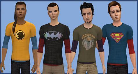 sims 4 cc male geek shirts mod the sims sheldon shirts 17 shirts for your geeky guys