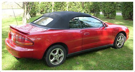 99 Toyota Celica 1994 99 Toyota Celica Convertible Tops And Convertible Top