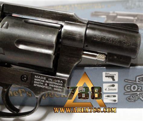 Airsoft Gun Revolver Mimis rcf sw38 2 quot black w revolver 4 5mm co2 mimis gotri area 788 menjual aksesoris sparepart