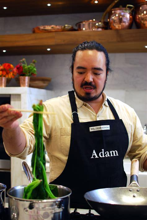 adam liaws asian cooking school  williams sonoma